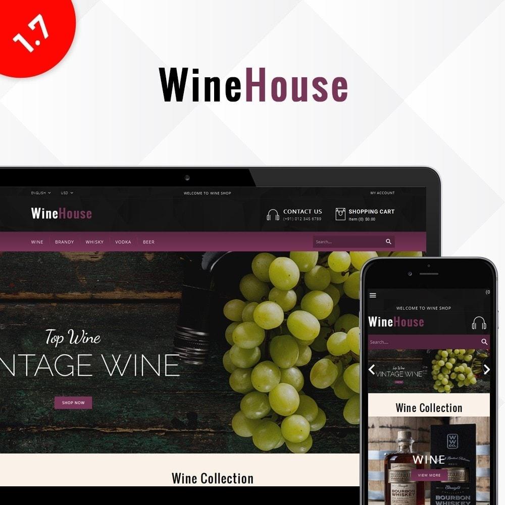 theme - Drink & Wine - WineHouse store - 1