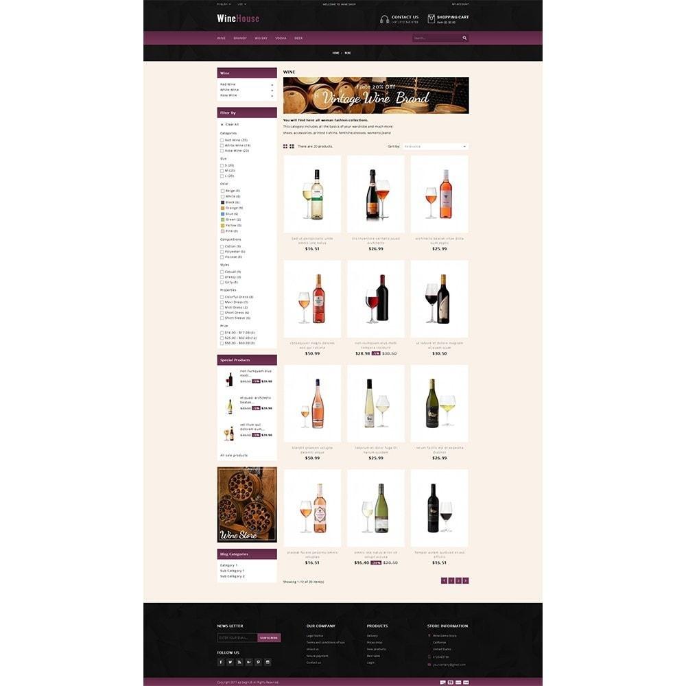 theme - Drink & Wine - WineHouse store - 3
