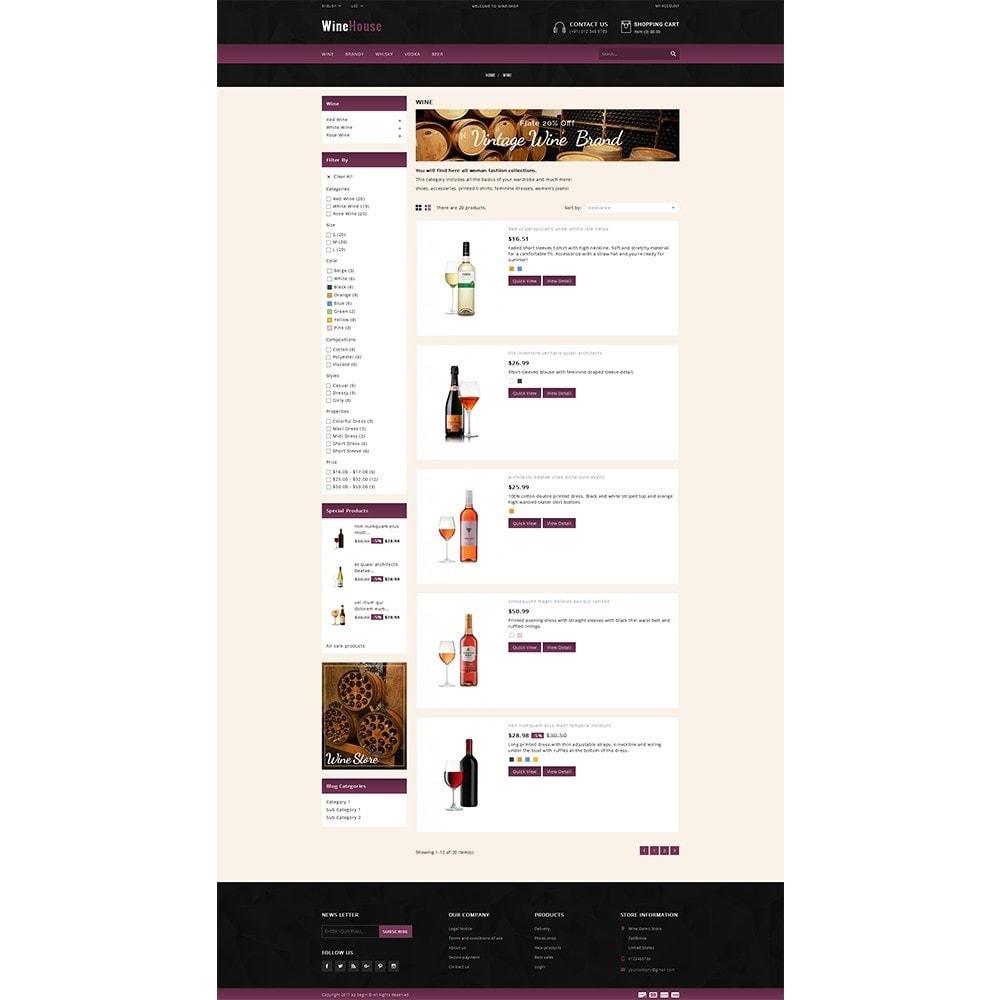 theme - Drink & Wine - WineHouse store - 4