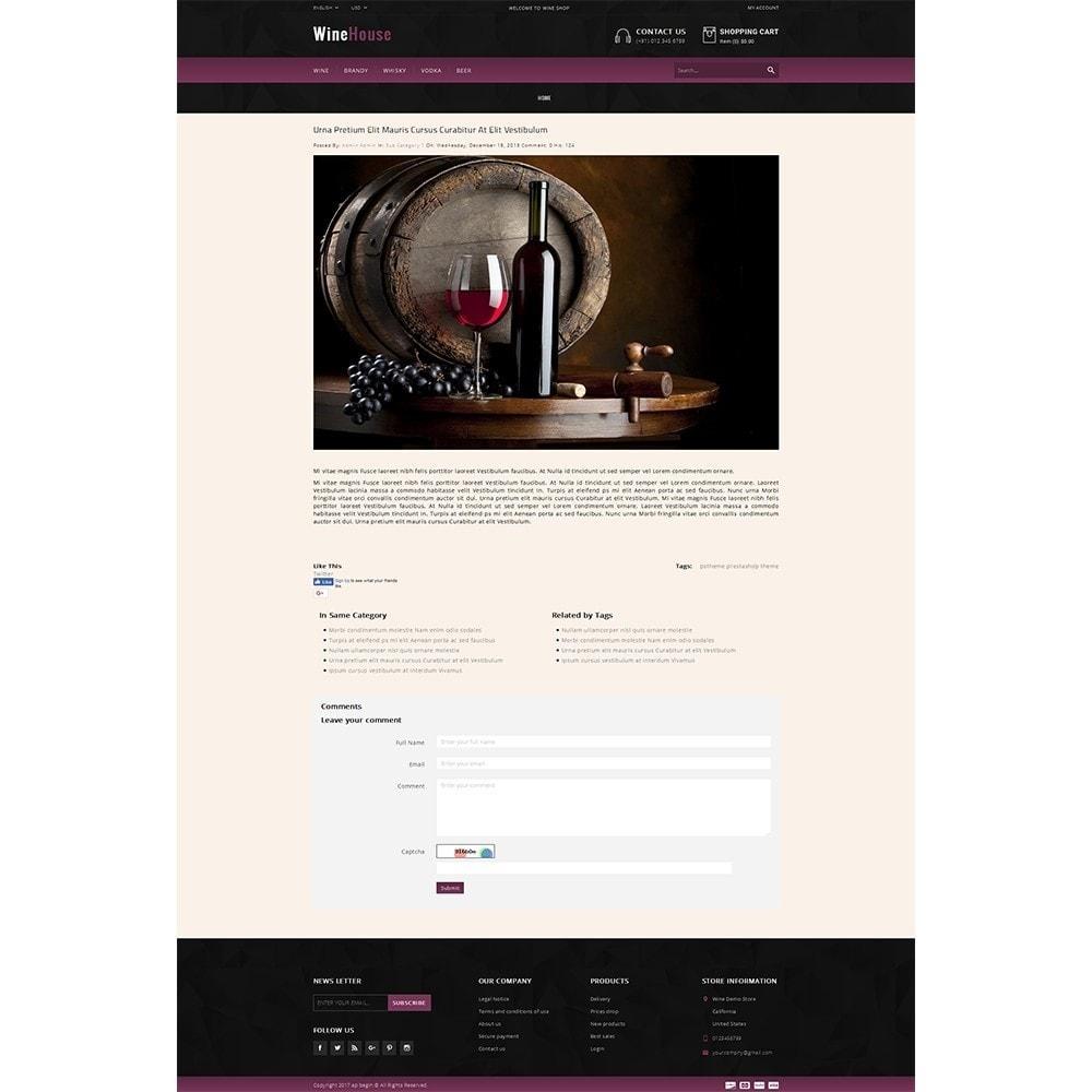 theme - Drink & Wine - WineHouse store - 6