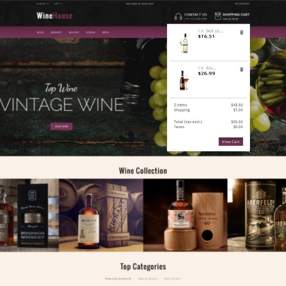 theme - Drink & Wine - WineHouse store - 8