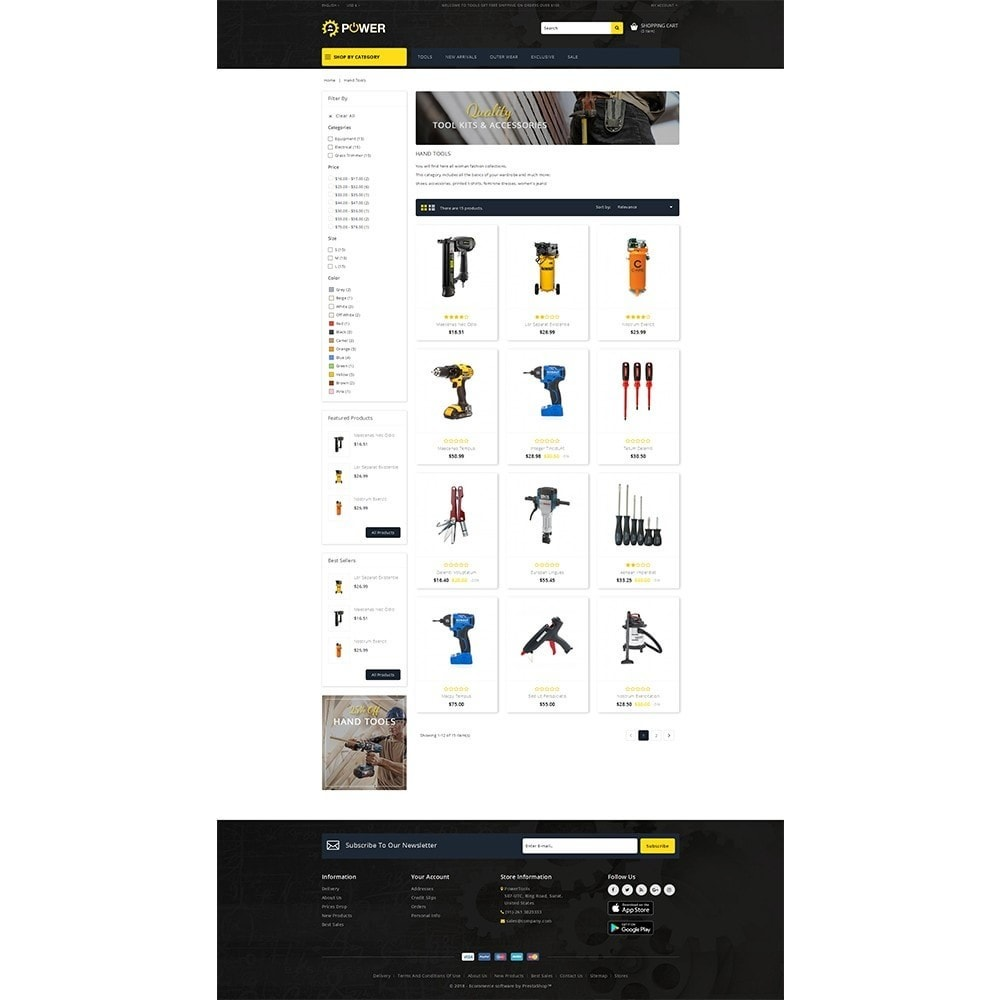 theme - Eletrônicos & High Tech - PowerTools Store - 3