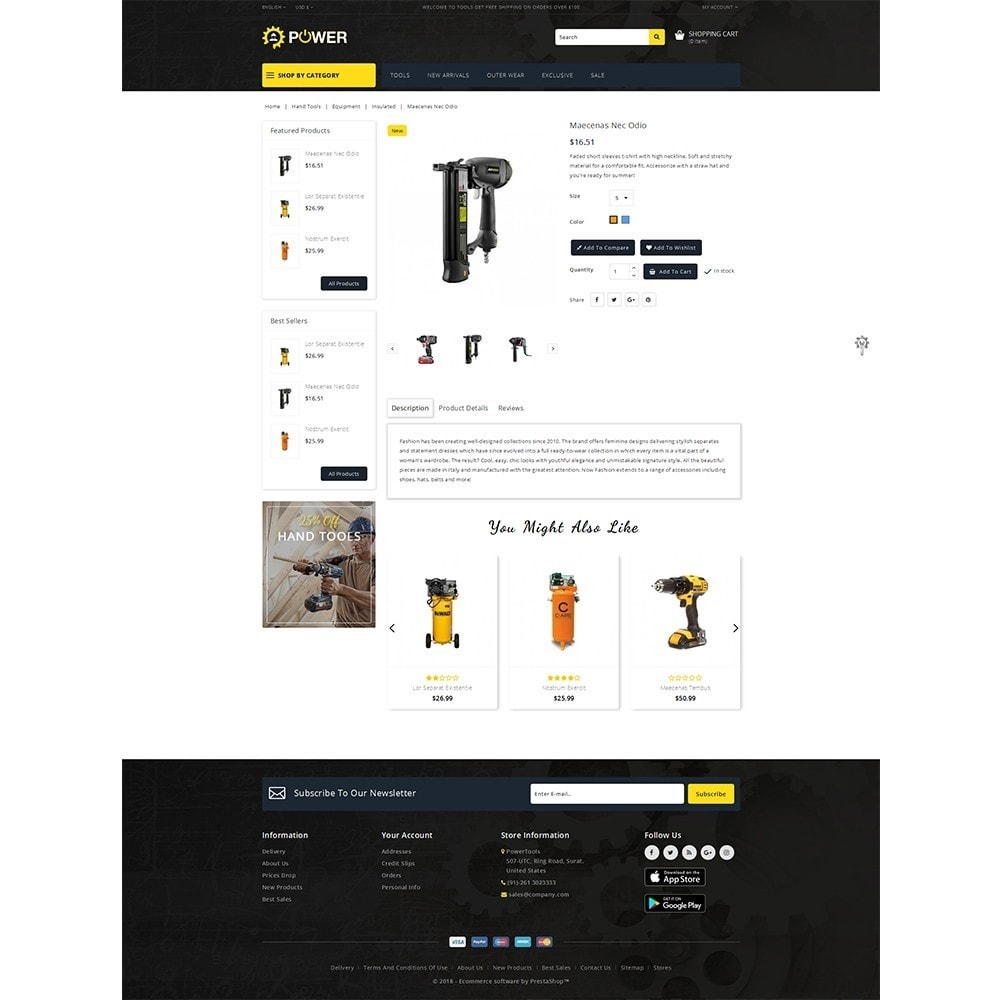 theme - Eletrônicos & High Tech - PowerTools Store - 5