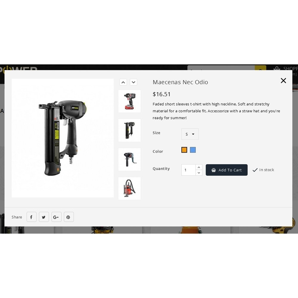 theme - Eletrônicos & High Tech - PowerTools Store - 7
