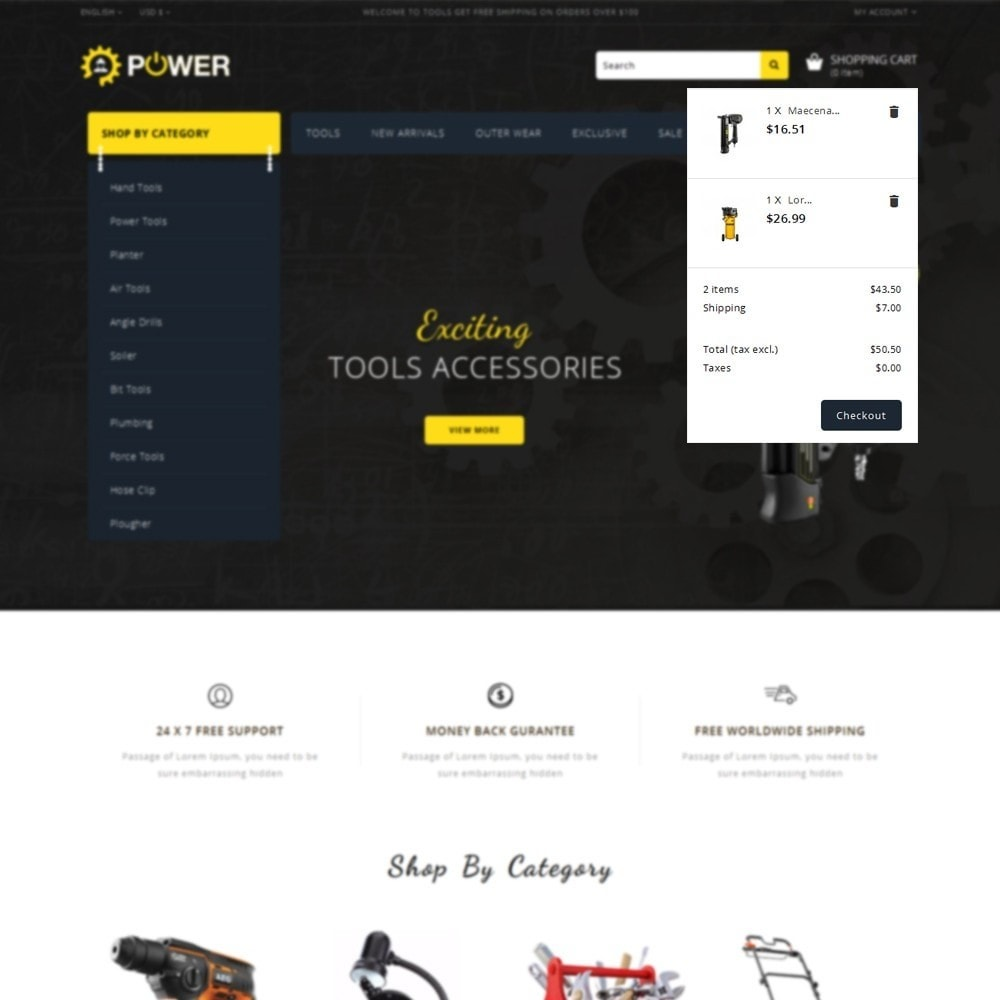 theme - Eletrônicos & High Tech - PowerTools Store - 8
