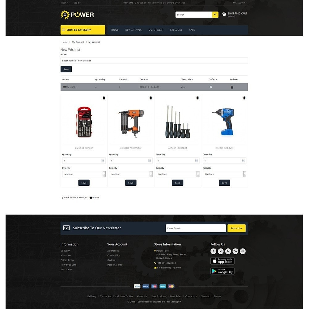 theme - Eletrônicos & High Tech - PowerTools Store - 10