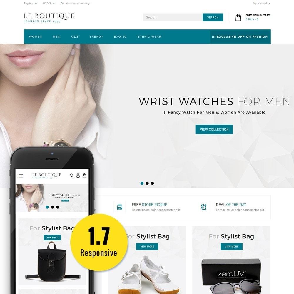 theme - Moda & Obuwie - Leboutique Store - 1