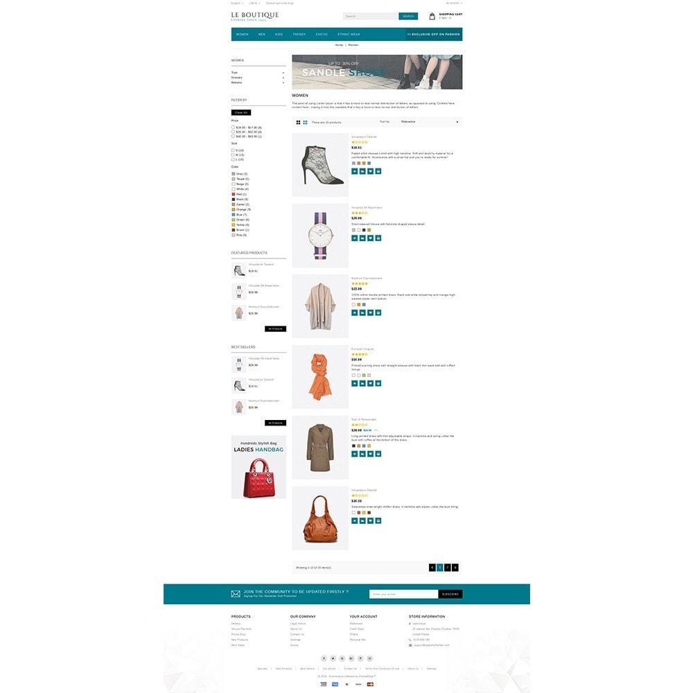 theme - Moda & Obuwie - Leboutique Store - 4