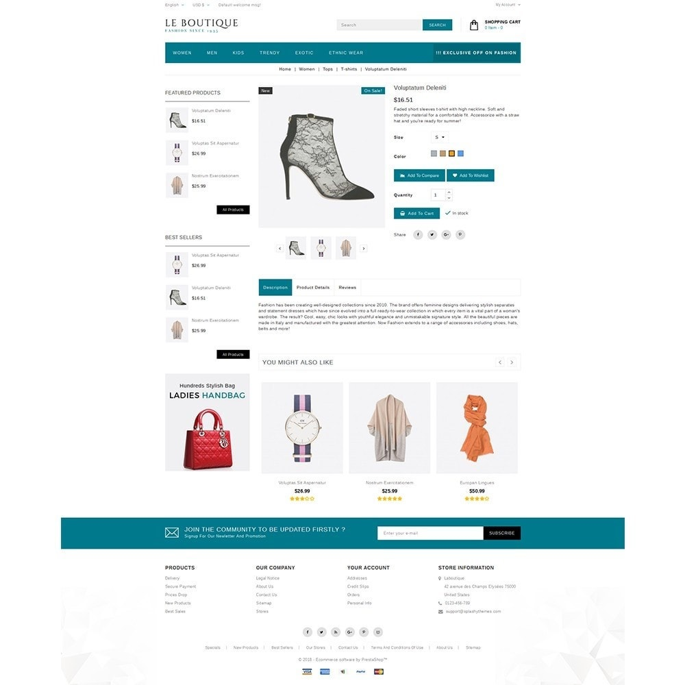 theme - Mode & Chaussures - Leboutique Store - 5