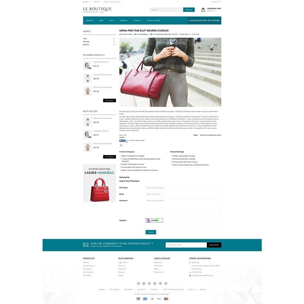 theme - Moda & Obuwie - Leboutique Store - 6
