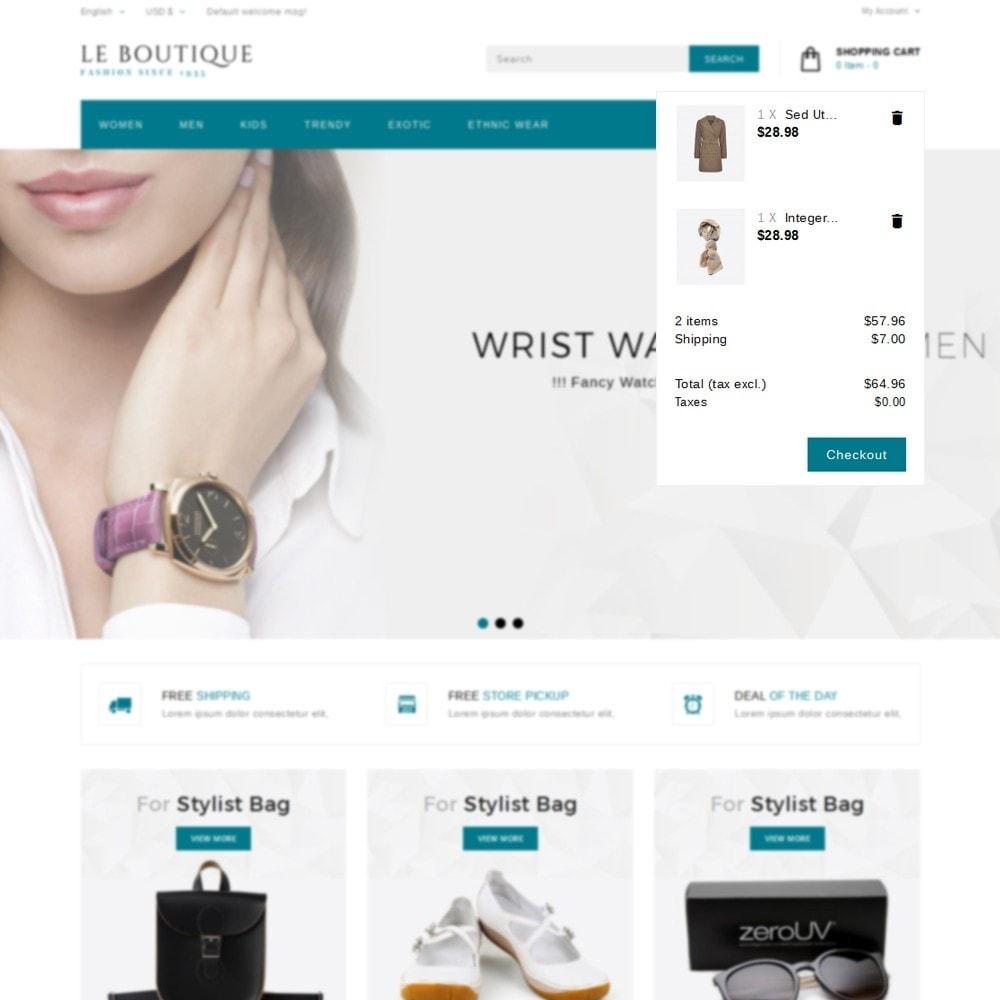 theme - Moda & Obuwie - Leboutique Store - 8