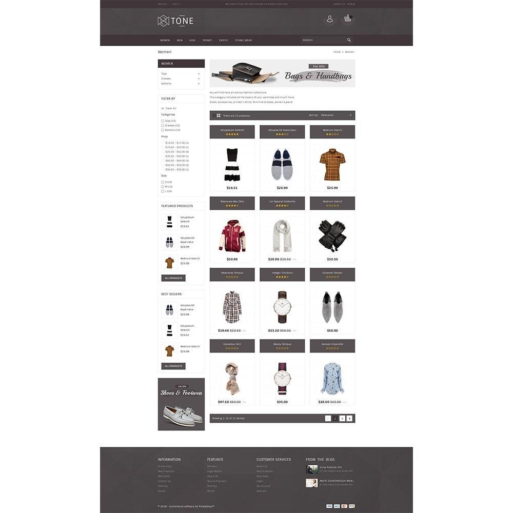 theme - Fashion & Shoes - Tone Fashion Store - 3