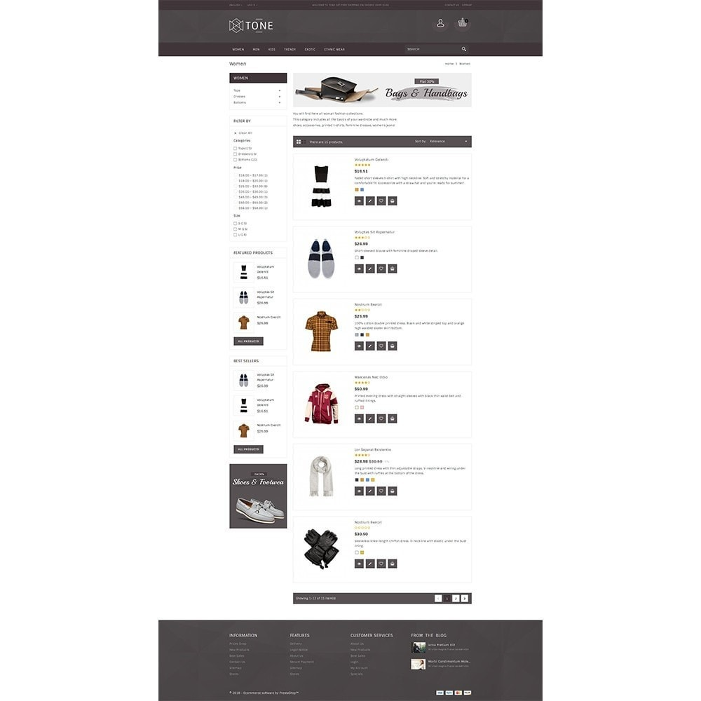 theme - Fashion & Shoes - Tone Fashion Store - 4