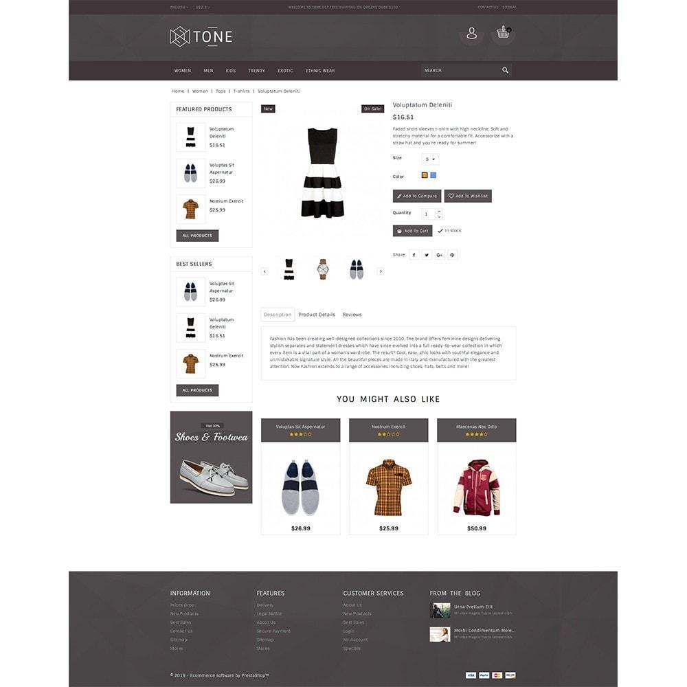 theme - Fashion & Shoes - Tone Fashion Store - 5