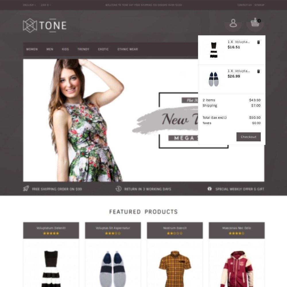 theme - Fashion & Shoes - Tone Fashion Store - 8