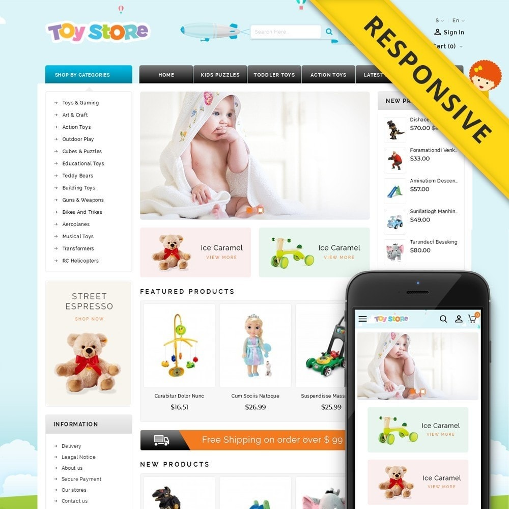 theme - Kids & Toys - Kids & Toys Shop - 1