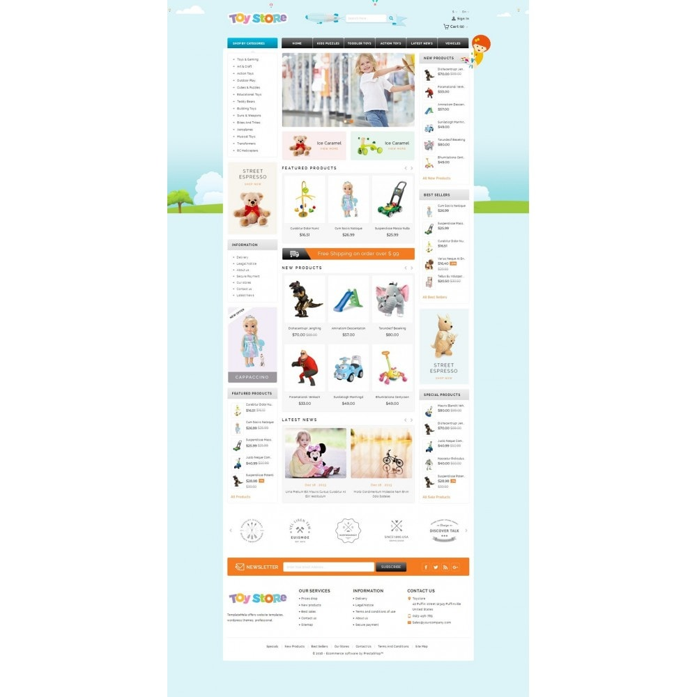 theme - Kids & Toys - Kids & Toys Shop - 2