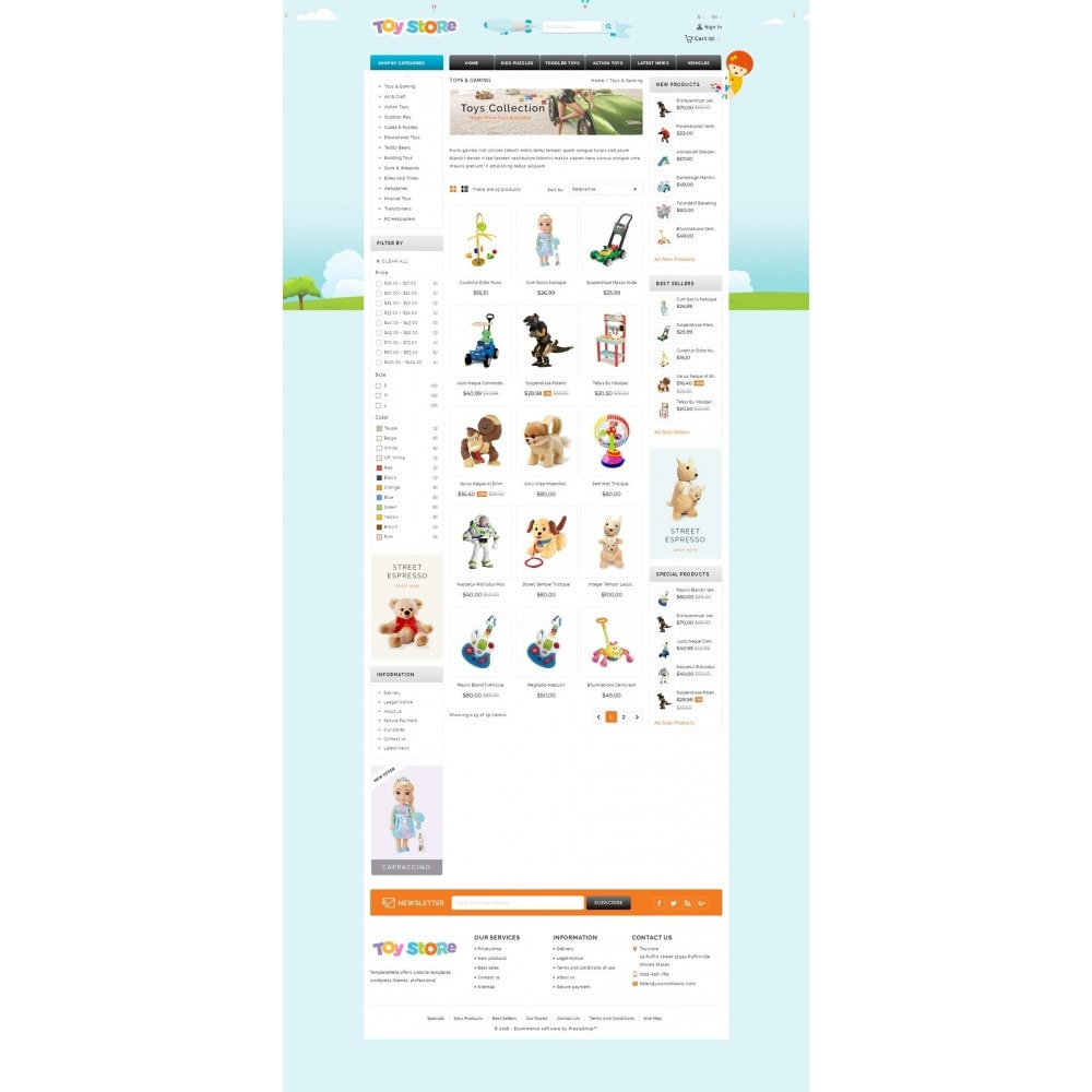 theme - Kids & Toys - Kids & Toys Shop - 3