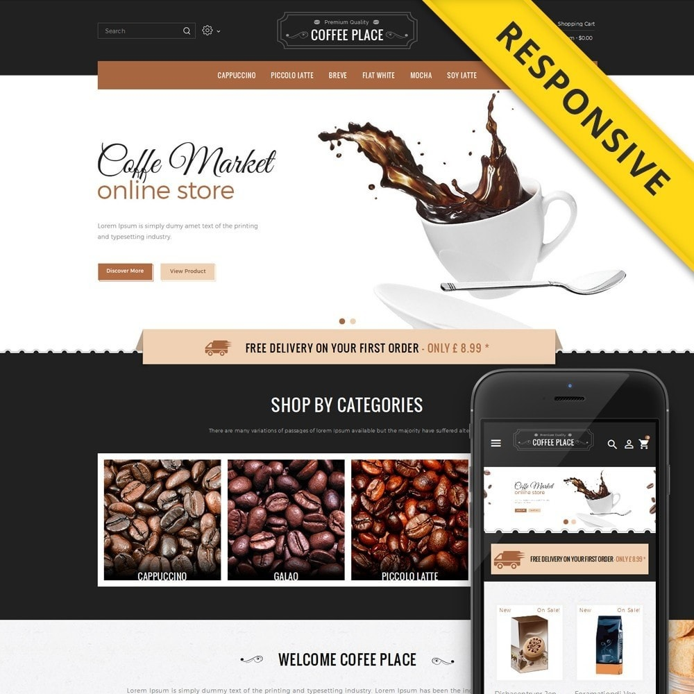 theme - Cibo & Ristorazione - Coffee Place Shop - 1