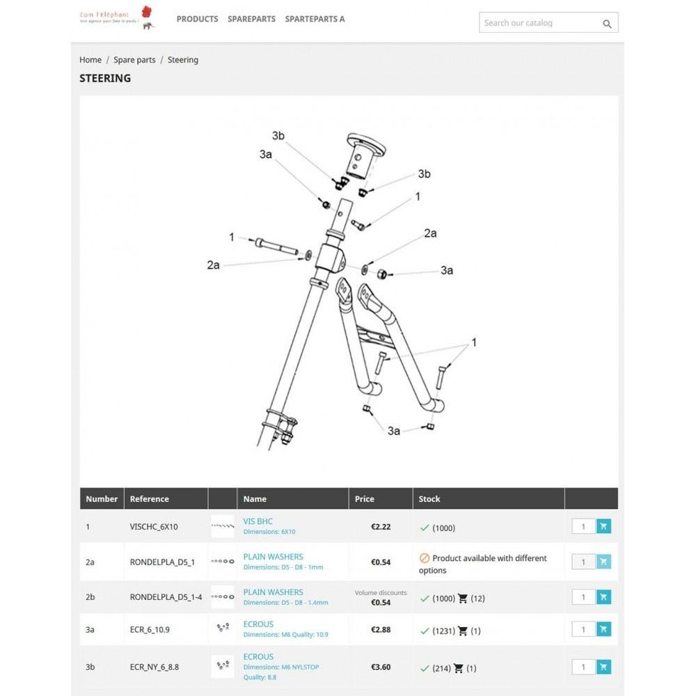 module - Individuelle Seitengestaltung - Spare parts - 3