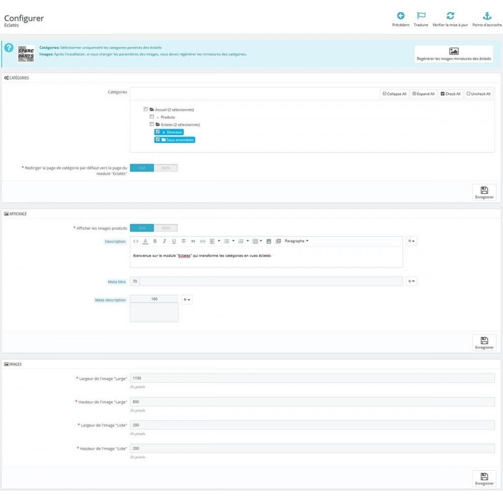 module - Personalización de la página - Spare parts - 7