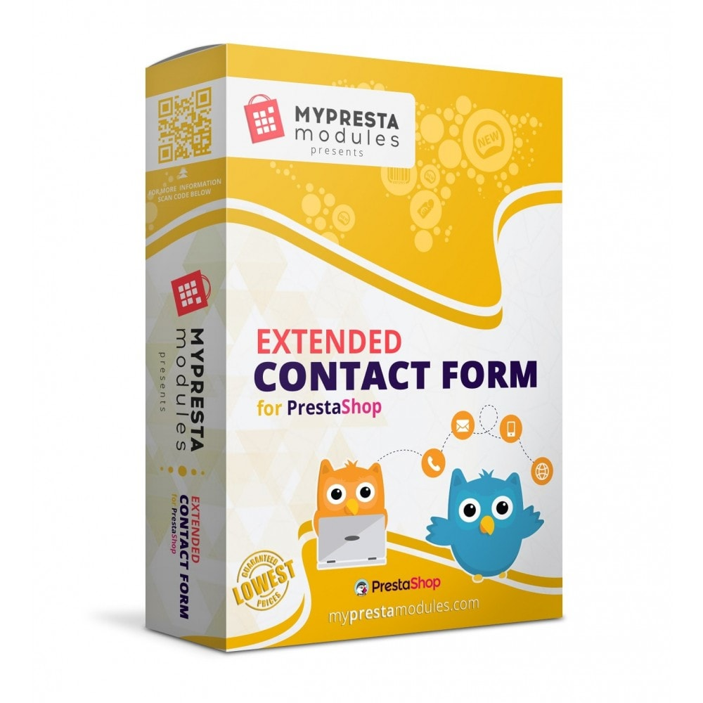 module - Formularz kontaktowy & Ankiety - Extended Contact Form - 1