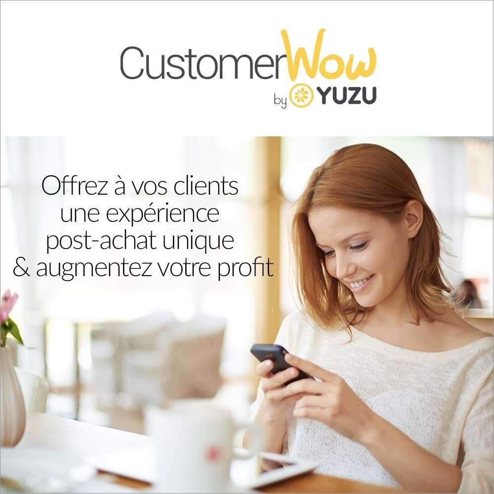 module - Remarketing & Compras abandonados - Yuzu Customer Wow - increase your customer value - 1