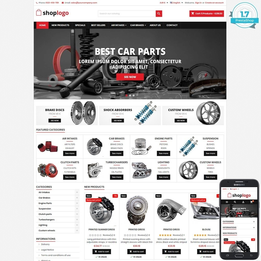 theme - Automotive & Cars - P17AT11 Car spare parts and tools - 1