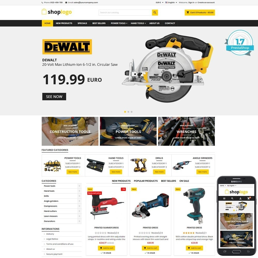 theme - Heim & Garten - P17AT12 Tools store - 1