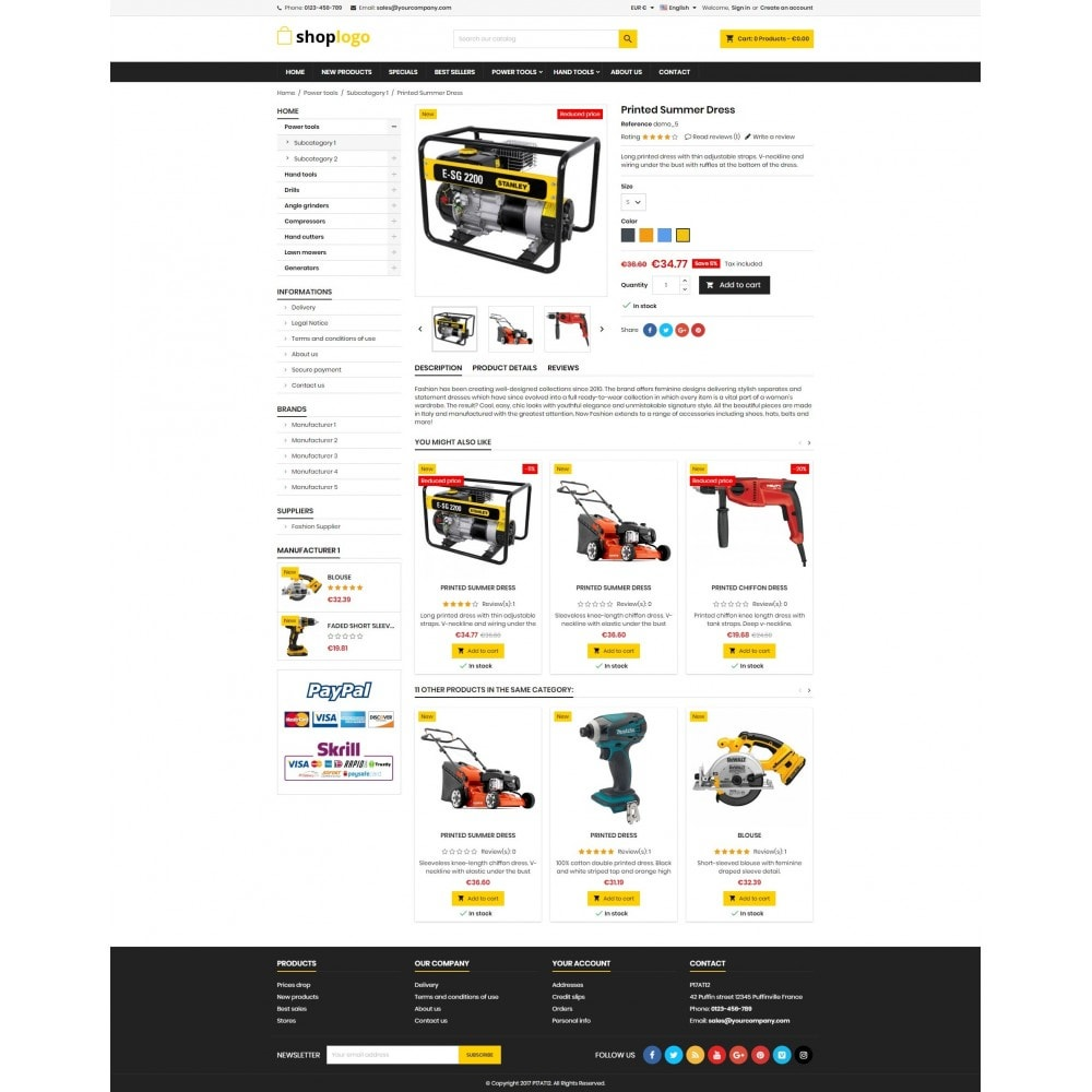 theme - Heim & Garten - P17AT12 Tools store - 4
