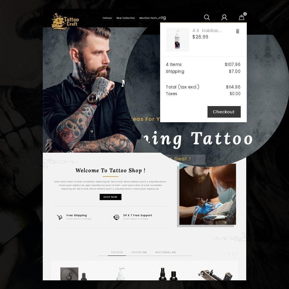 theme - Gezondheid & Schoonheid - Tattoo Craft - 8