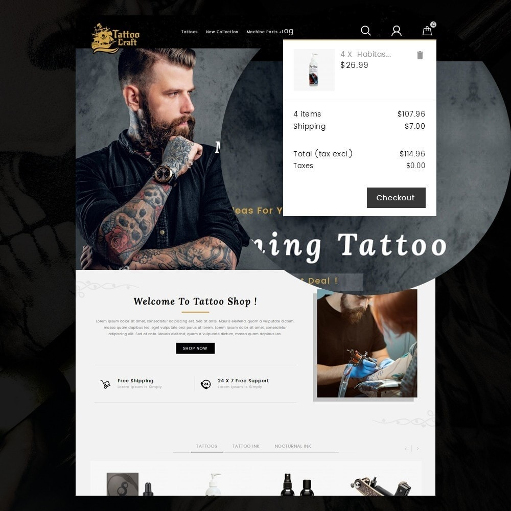 theme - Здоровье и красота - Tattoo Craft - 8