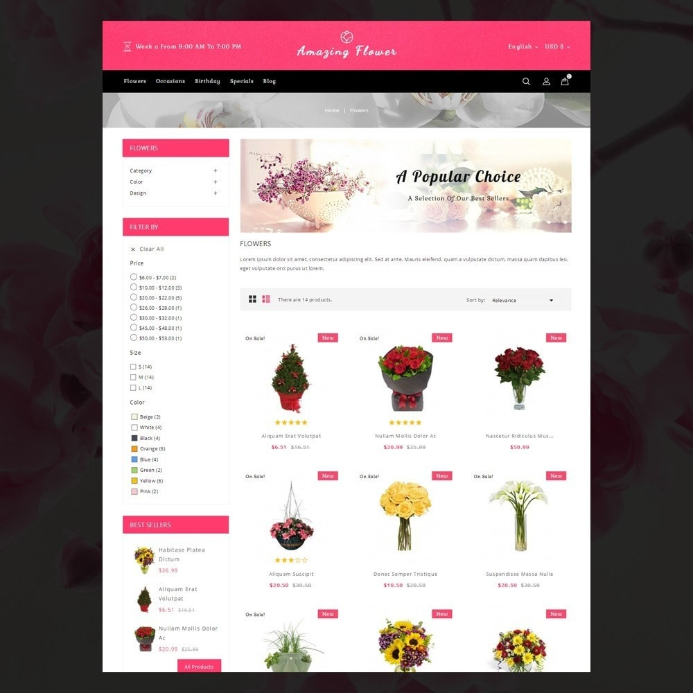 theme - Gifts, Flowers & Celebrations - Amazing Flower - 3
