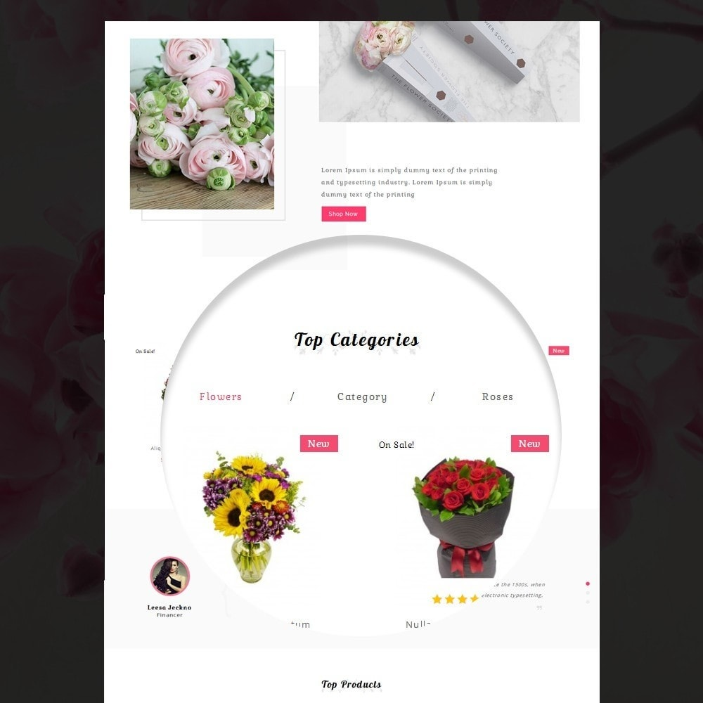 theme - Gifts, Flowers & Celebrations - Amazing Flower - 10