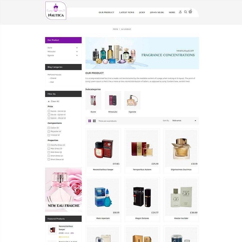 theme - Salud y Belleza - Nautica Perfume Store - 4