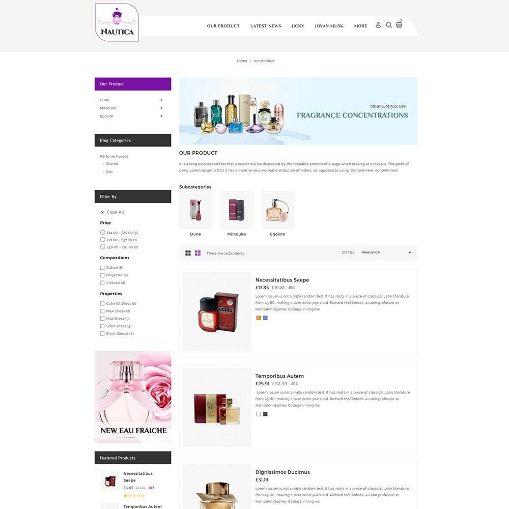 theme - Health & Beauty - Nautica Perfume Store - 5