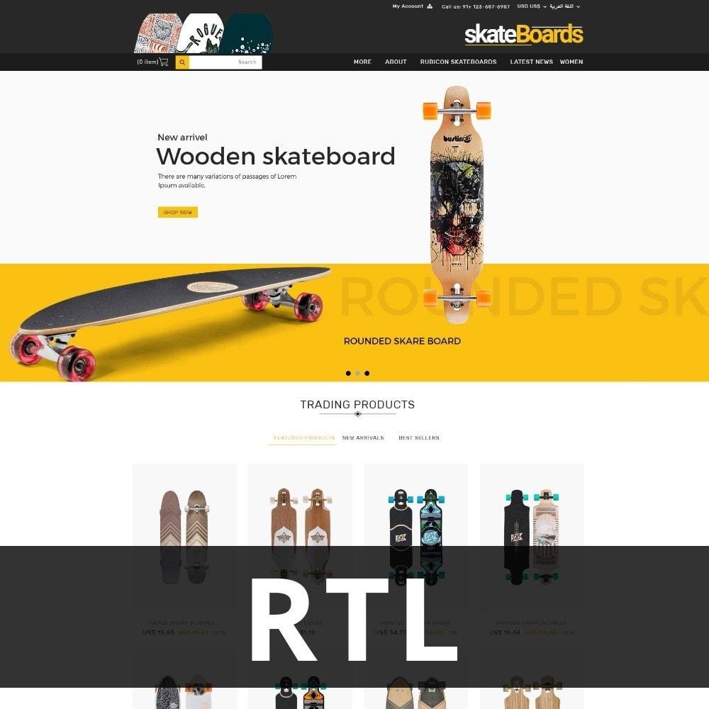 theme - Sport, Rozrywka & Podróże - Skateboard Sport Store - 3