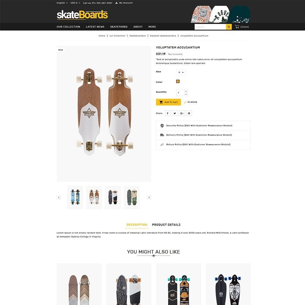 theme - Deportes, Actividades y Viajes - Skateboard Sport Store - 6