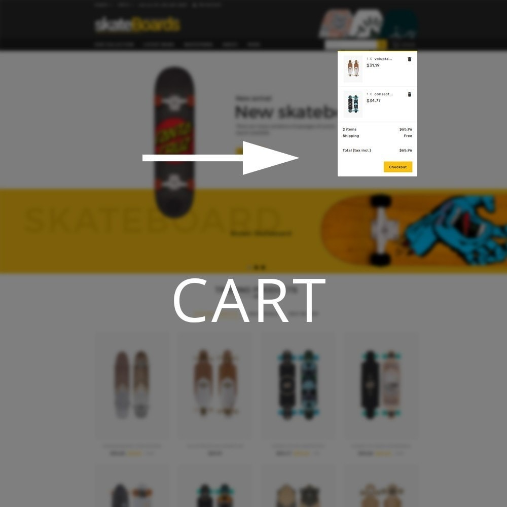 theme - Sport, Aktivitäten & Reise - Skateboard Sport Store - 9
