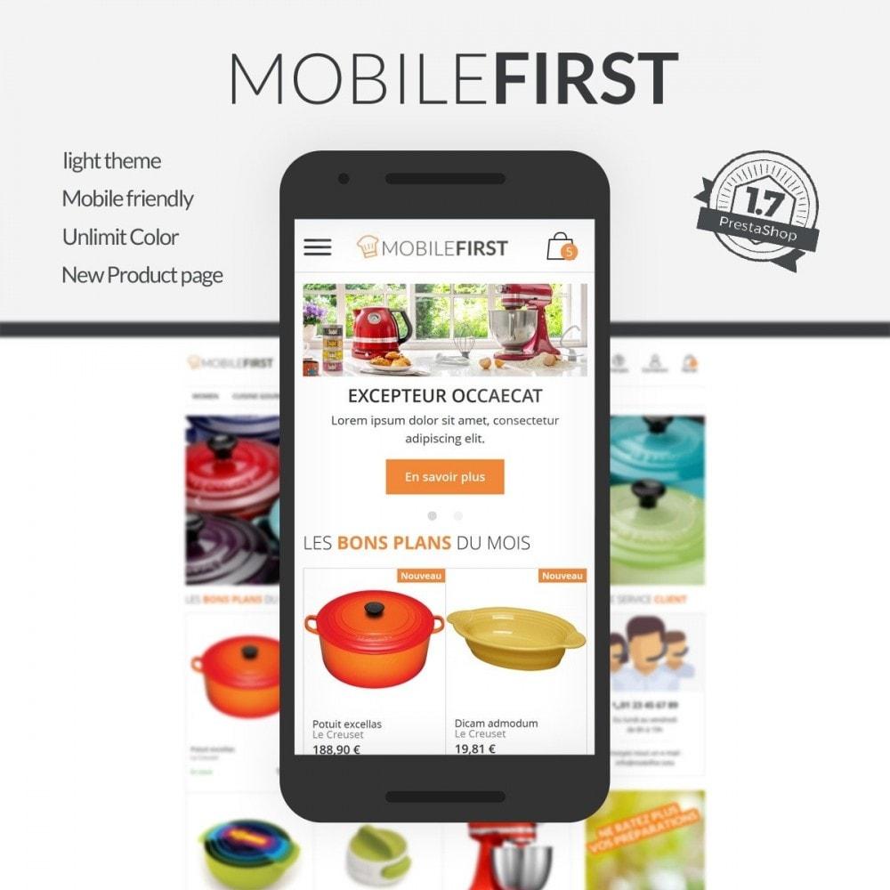 theme - Gastronomía y Restauración - Mobilefirst - 1