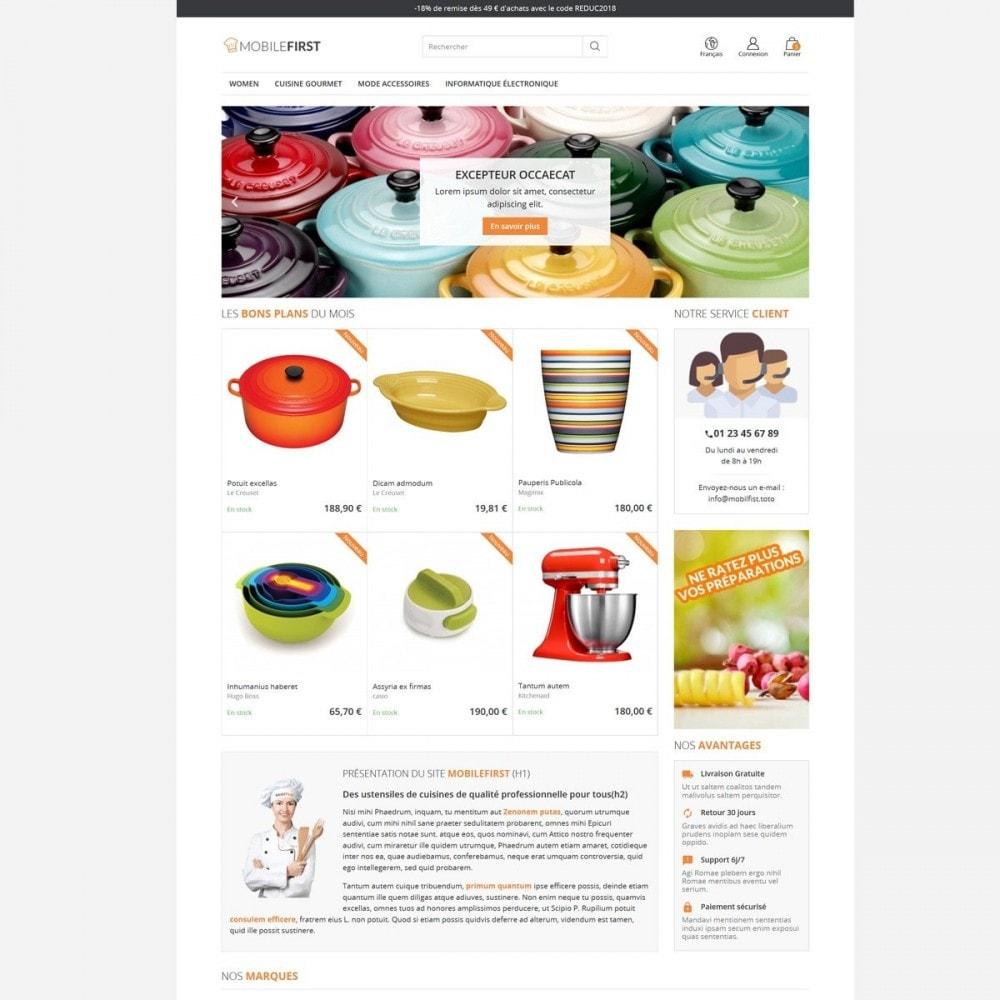 theme - Gastronomía y Restauración - Mobilefirst - 4