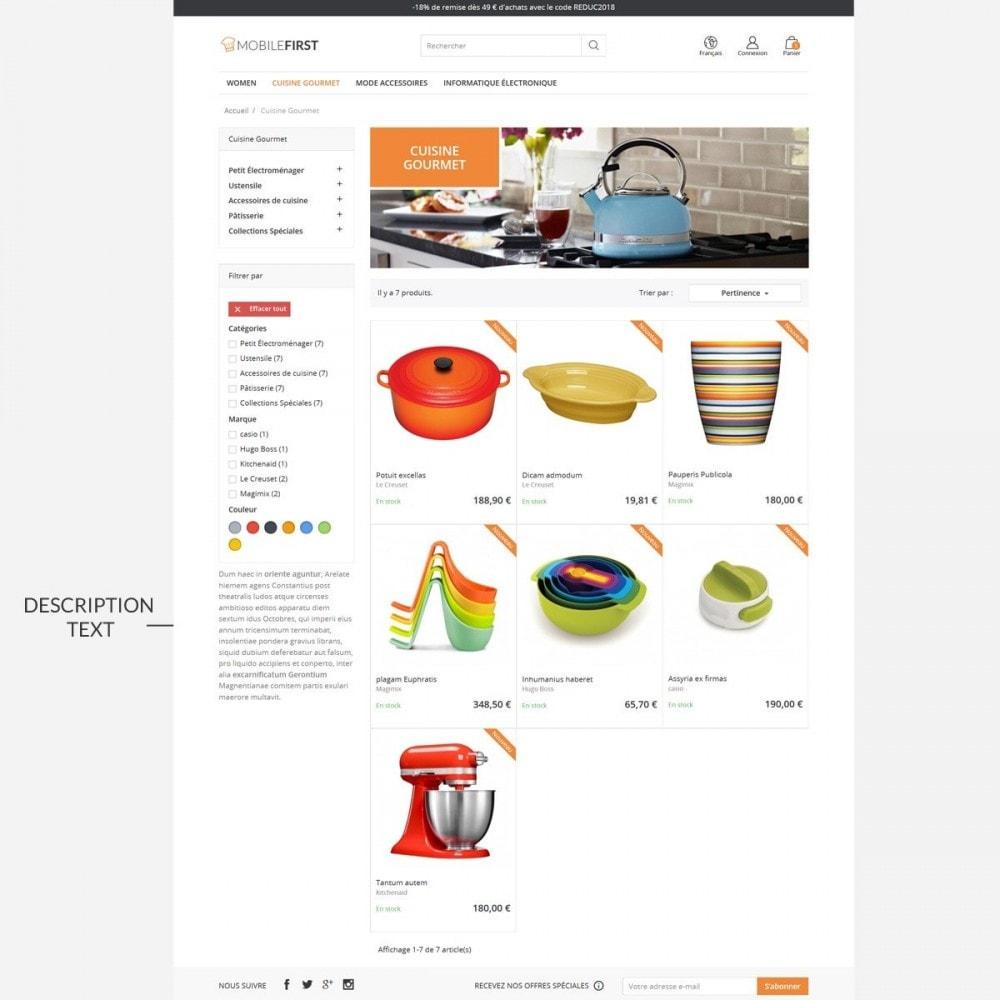 theme - Gastronomía y Restauración - Mobilefirst - 5