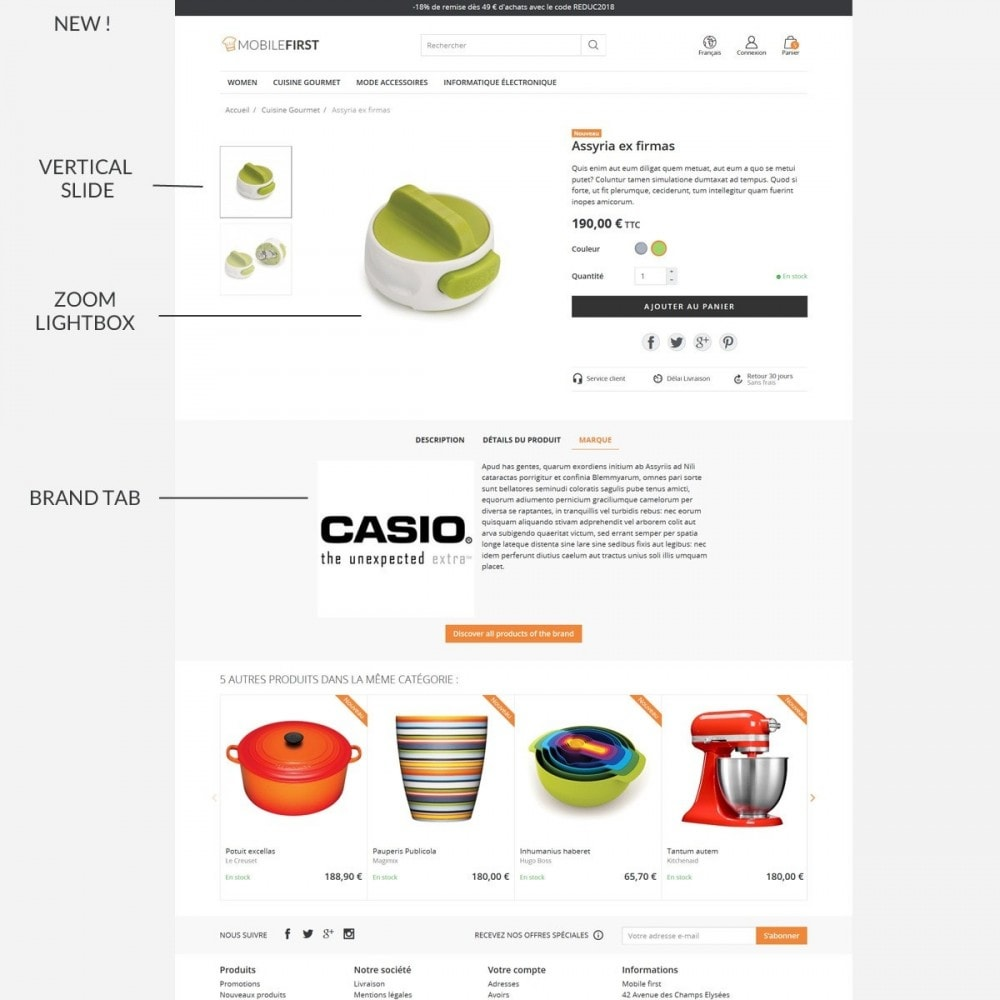 theme - Food & Restaurant - Mobilefirst - 7