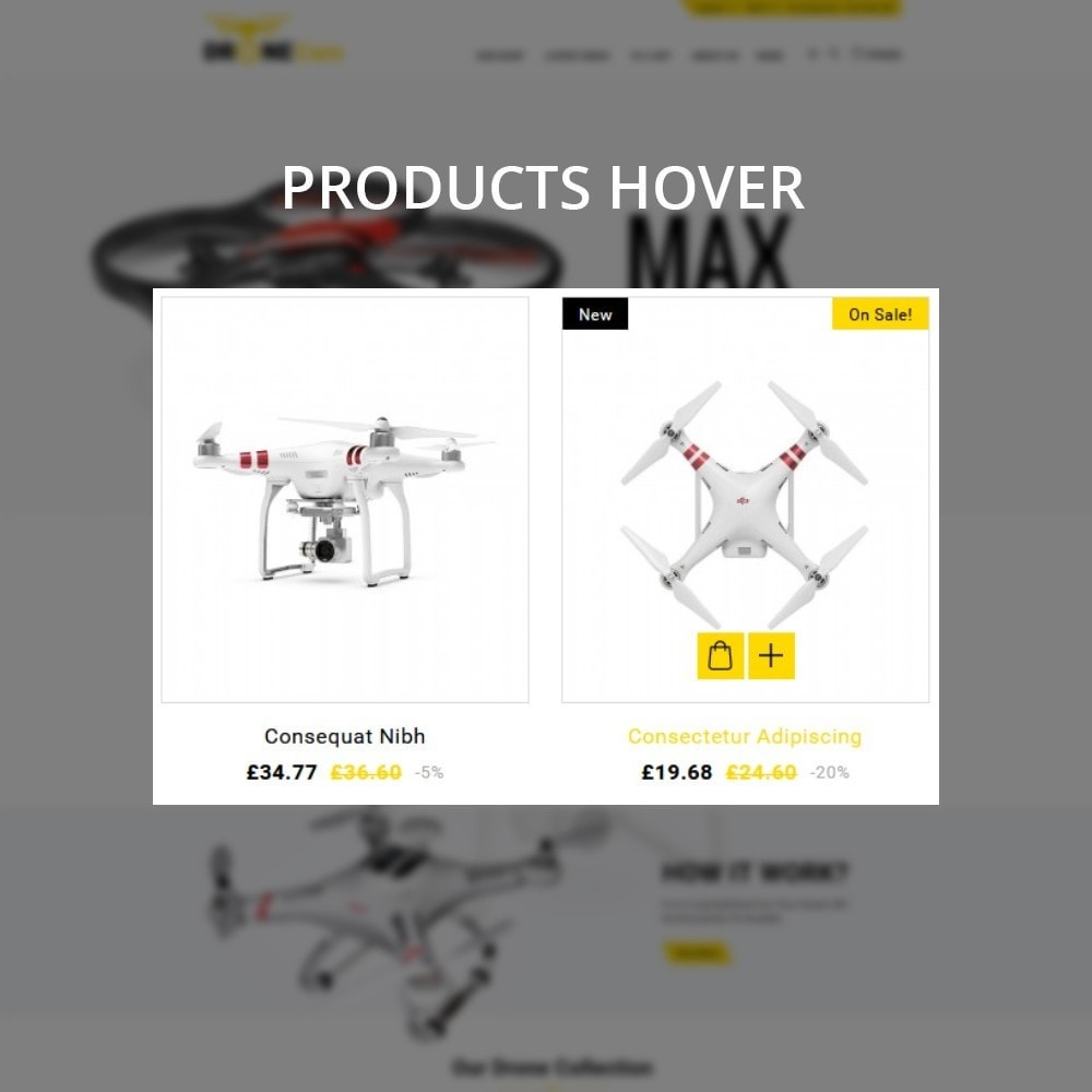theme - Electronique & High Tech - DroneCam Camera Store - 11
