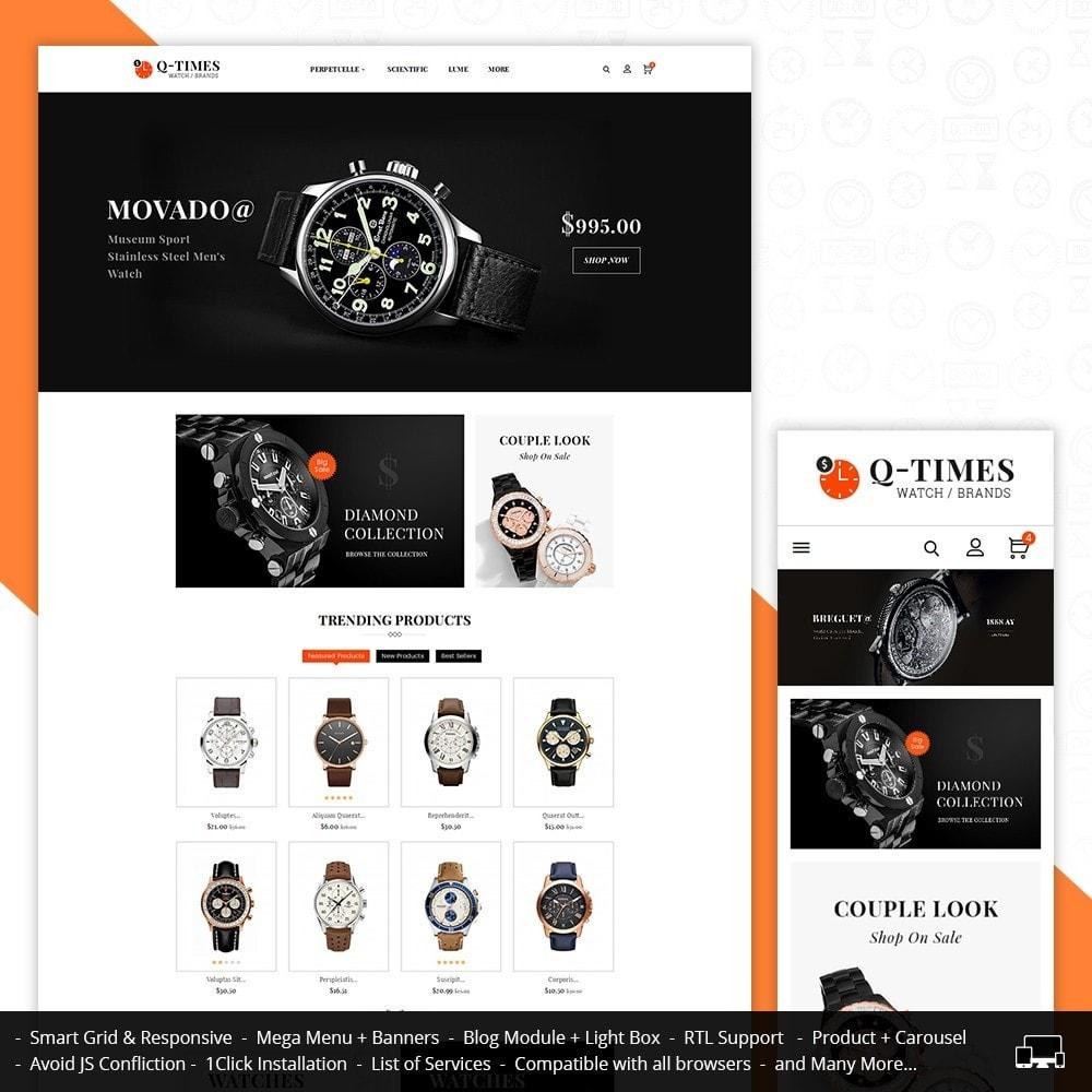 theme - Jewelry & Accessories - Times Watch - 1