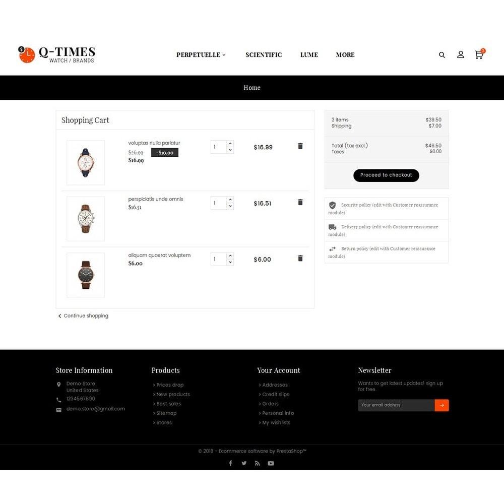 theme - Bijoux & Accessoires - Times Watch - 6