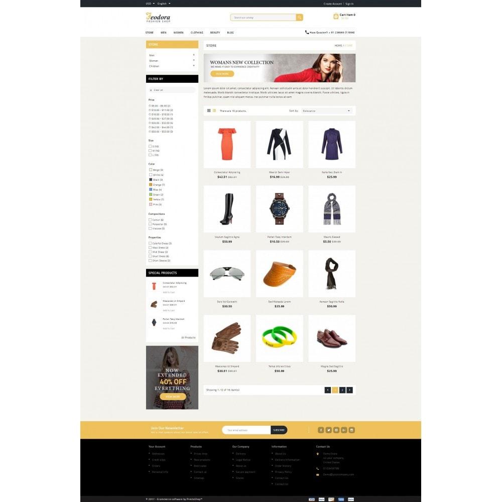 theme - Moda y Calzado - Feodora Fashion - 4