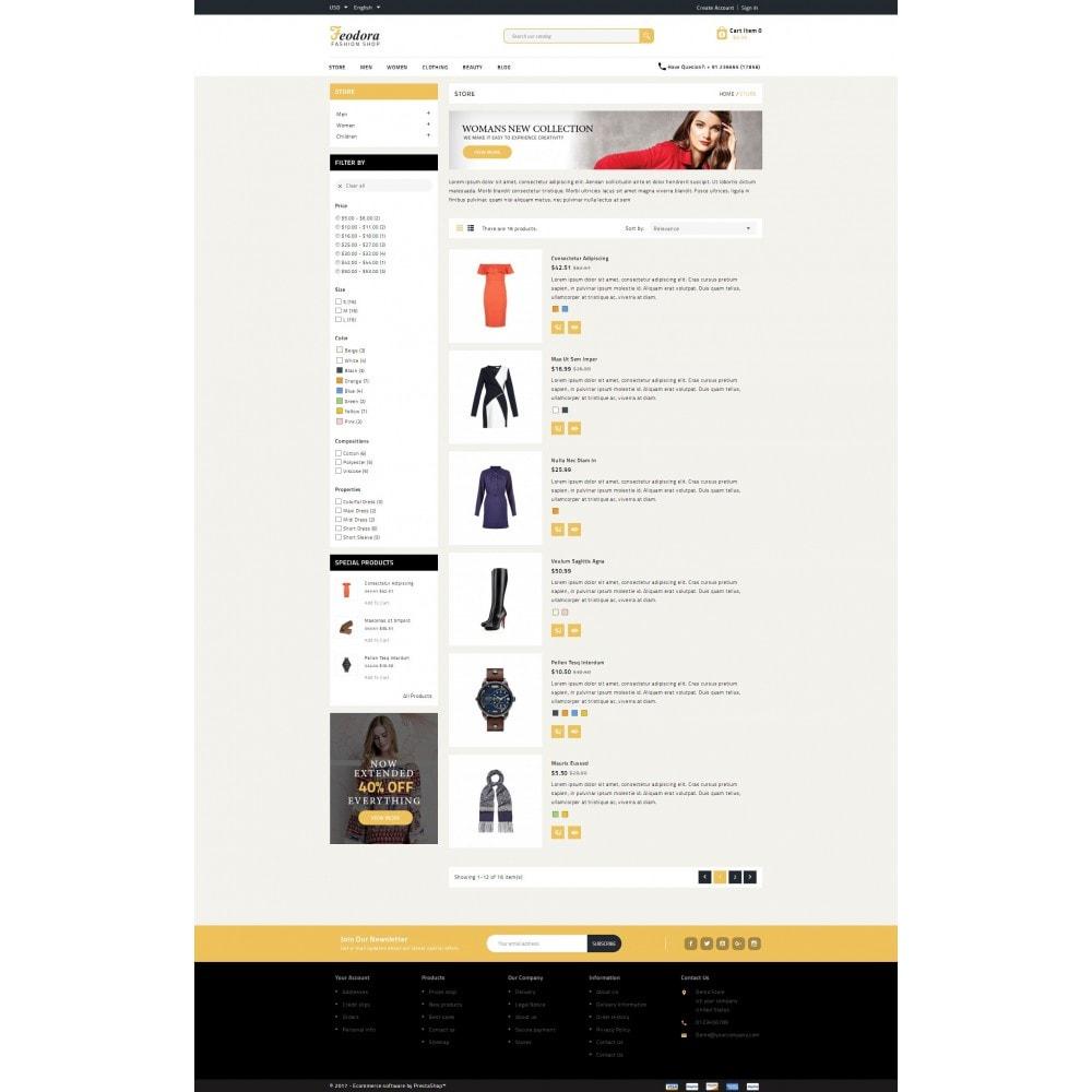 theme - Moda y Calzado - Feodora Fashion - 5