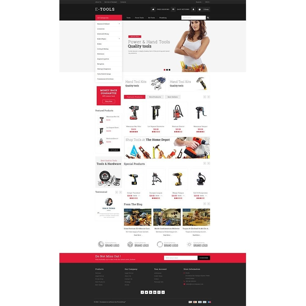 theme - Coches y Motos - Etools Store - 2