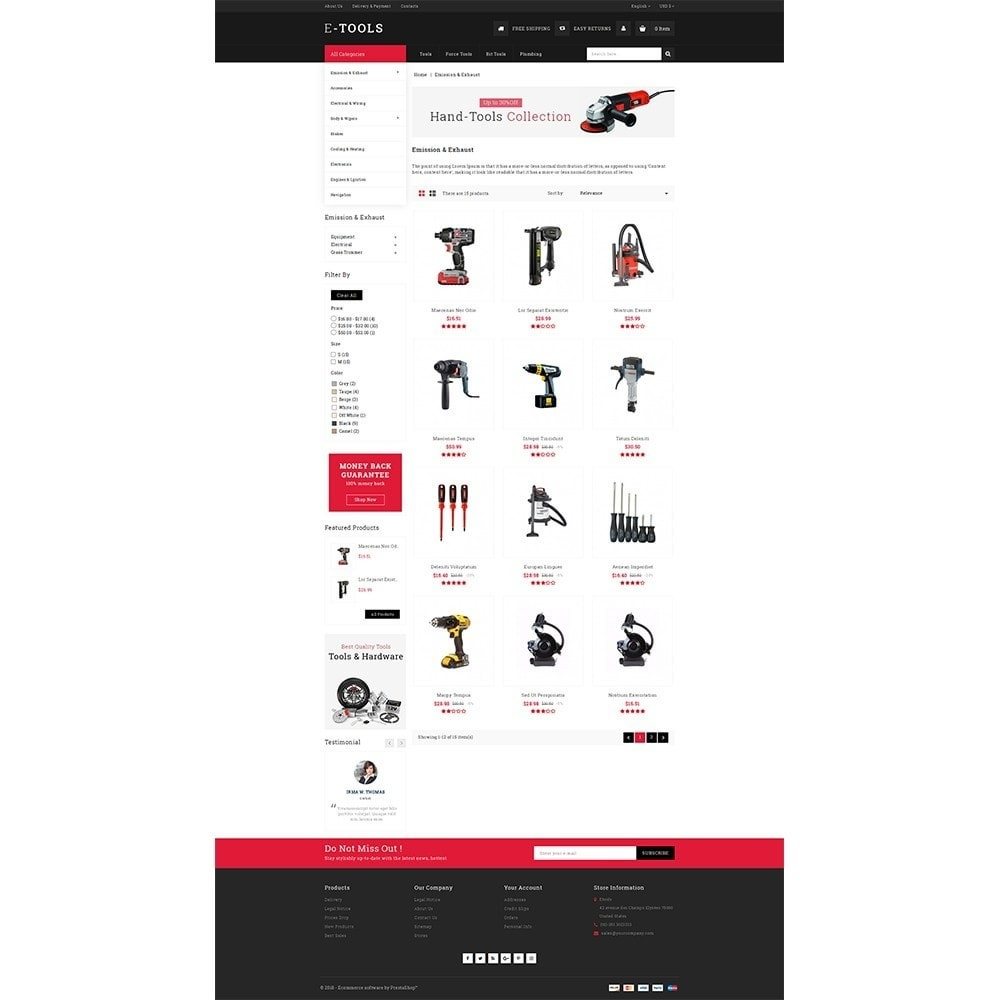 theme - Coches y Motos - Etools Store - 3